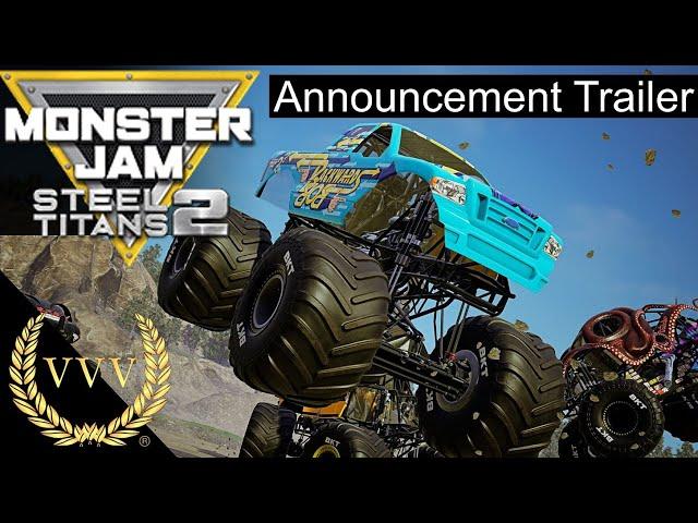 Monster Jam Steel Titans 2 Announcement Trailer