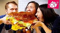 We Tried To Re-Create This Giant 30-Pound Burger •Eating Your Feed •Tasty