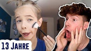 Simon (13) schminkt sich schön! 😱 I Ceddotalk