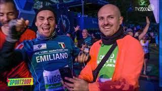 Emiliano Malagoli, pilota di motociclismo paralimpico, alla Maratona di New York, su  Sport2000