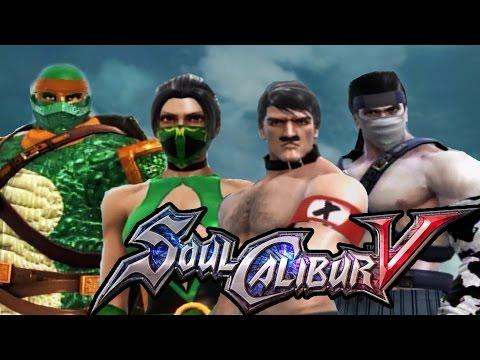 Soul Calibur V - 50 Character Creation Showcase (SoulCalibur 5)