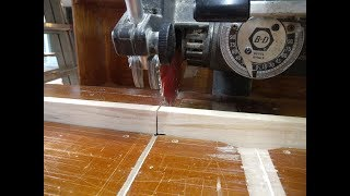 Zero Clearance Fence for the Radial Arm Saw