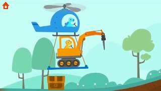 Dinosaur Digger 3 | Digger Kids Game | Play Fun Dinosaur Digger Game For Kids& Toddlers | Playville