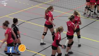 Volleybal Dames Beker 2e Ronde A: Flash Nieuwleusen D2 - De Bevers D2 [15-11-2018]