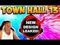 TH13 DESIGN LEAKED! TOWN HALL 13 UPDATE 2019 CLASH OF CLANS | COC