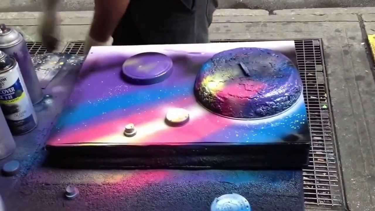 sidewalk spray paint