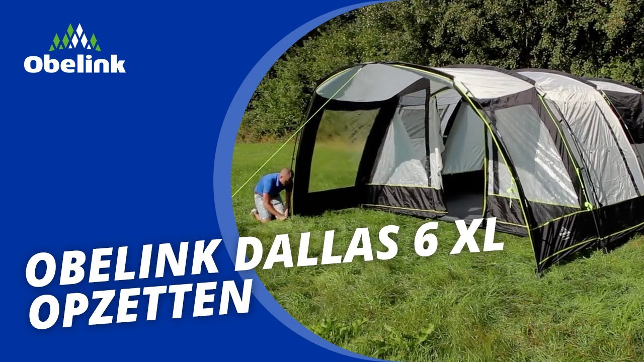 Obelink Dallas 6 XL Tunnelzelt |