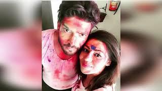 TV stars neh dhum dham se manayi Holi  Hina Khan  Divyanka Tripathi  Rashmi Desai  RBKTIMES