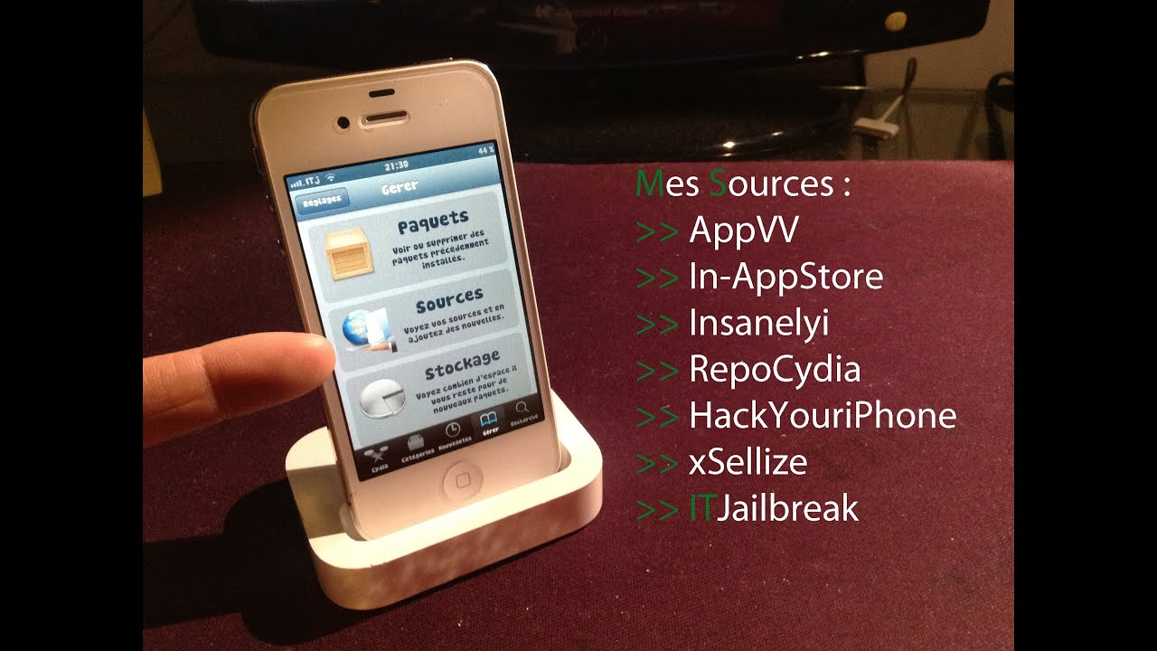 Mes meilleures sources cydia compatibles sous l'iOS 6 x/5 x !  (iPhone/iPodTouch/iPad)