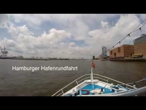 Great Timelapse Of A Big Harbor Tour In Hamburg