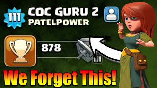 OMG😮We Forget This Account In Clash Of Clans - Rush To Max TH11
