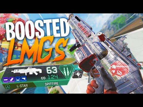Apex's Boosted Power LMGs are Outrageously Good! - Apex Legends Season 7