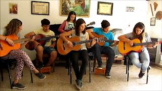 Baixar Camino a San Francisco (de Hugo Coimbra Gutierrez) instrumental by Academia Sonidos del Corazón