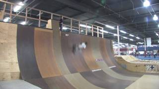First Runs on New Vert Ramp at KTR