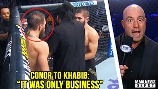 Conor McGregor apologized to Khabib mid fíght; Joe Rogan reacts to UFC 229; Dillon Danis vs RDA