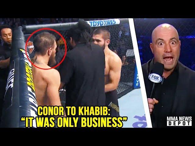 Conor McGregor apologized to Khabib mid fíght; Joe Rogan reacts to UFC 229; Dillon Danis vs RDA