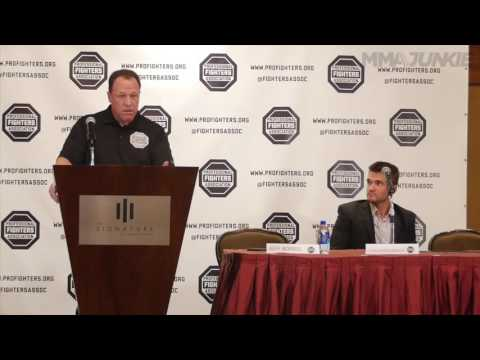 Professional Fighters Association Press Conference Archive