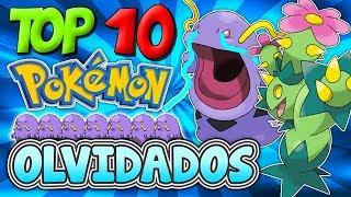 TOP 10 POKÉMON OLVIDADOS por la gente!