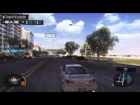 TheCrew Pc Fr : Course multijoueur-Lamborghini Gallardo & Nissan Skyline gtr R34