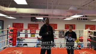 RINGSIDE BOXING MICRO GEL MITTS, product review