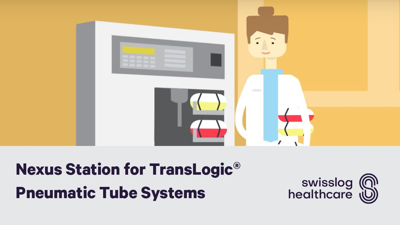 Nexus station for translogic pneumatic tube systems youtube