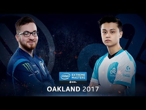 CS:GO - EnVyUs vs. Cloud9 [Cbble] - Group A Round 4 - IEM Oakland 2017