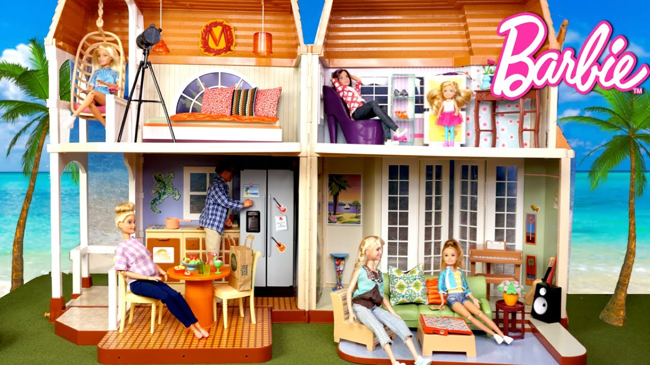 Download Barbie Family New Dollhouse - Titi Toys & Dolls