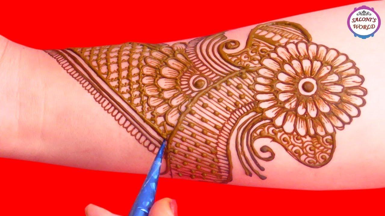Stylish Full Hand Arabic Henna Designs Henna Tattoo Mehndi