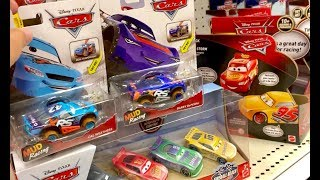 New Disney Cars Toys Hunt - We FOUND XTREME Racers AKA Disney Cars Mud Racing & RaceTrack Talkers