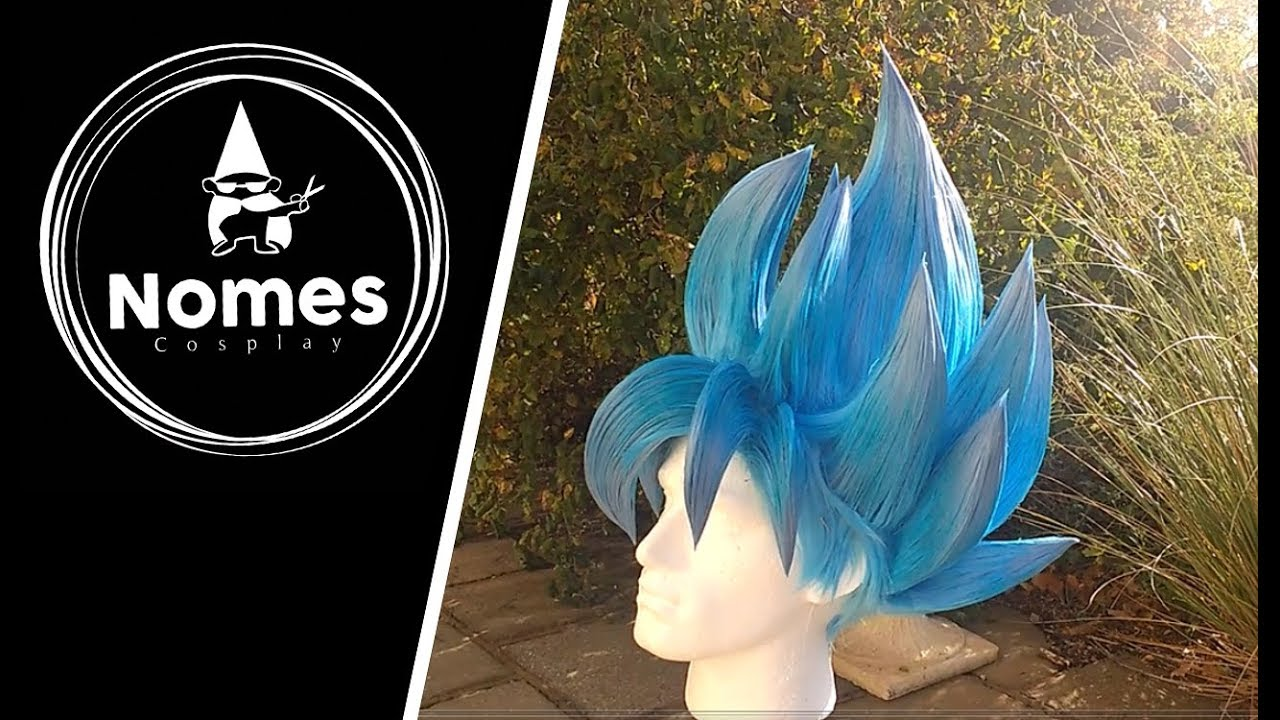 Styling a Super Saiyan Goku wig for cosplay - YouTube a72f295a6df4