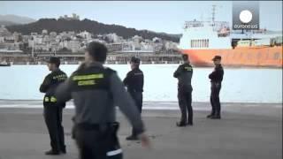 Mediterranean passengers rescued from blazing ferry near Mallorca   news