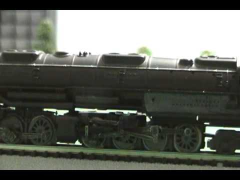 N Scale UP 4-8-8-4 Big Boy Steam Loco