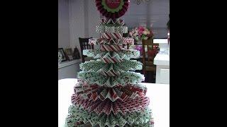 Rosette Christmas Tree