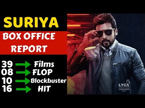 Suriya Hit And Flop Movies List With Box Office Collection Analysis