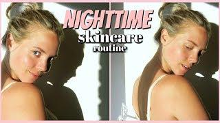 My Nighttime Skincare Routine with FOREO UFO Face Mask | Elanna Pecherle