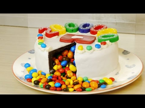 Chocolate Birthday Cake Surprise - Food Hack