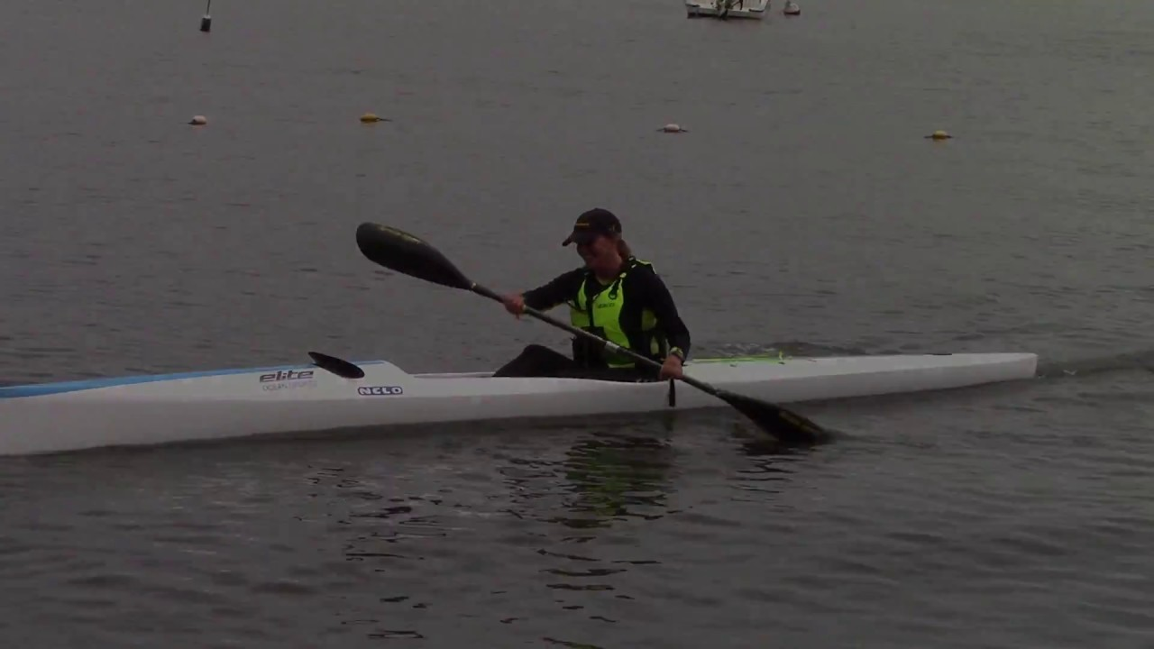 Nelo 550 Surfski First Paddle - Leslie - 7/15/2017