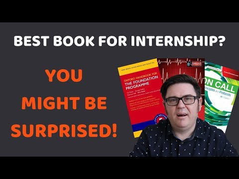What's the Best Book for Internship?