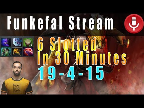 Funkefal Bounty Hunter Carry Gameplay After His Teammate First Picks Tinker. Full Game