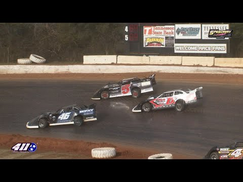604 Crate Late Model @ 411 Motor Speedway Dec  28, 2019