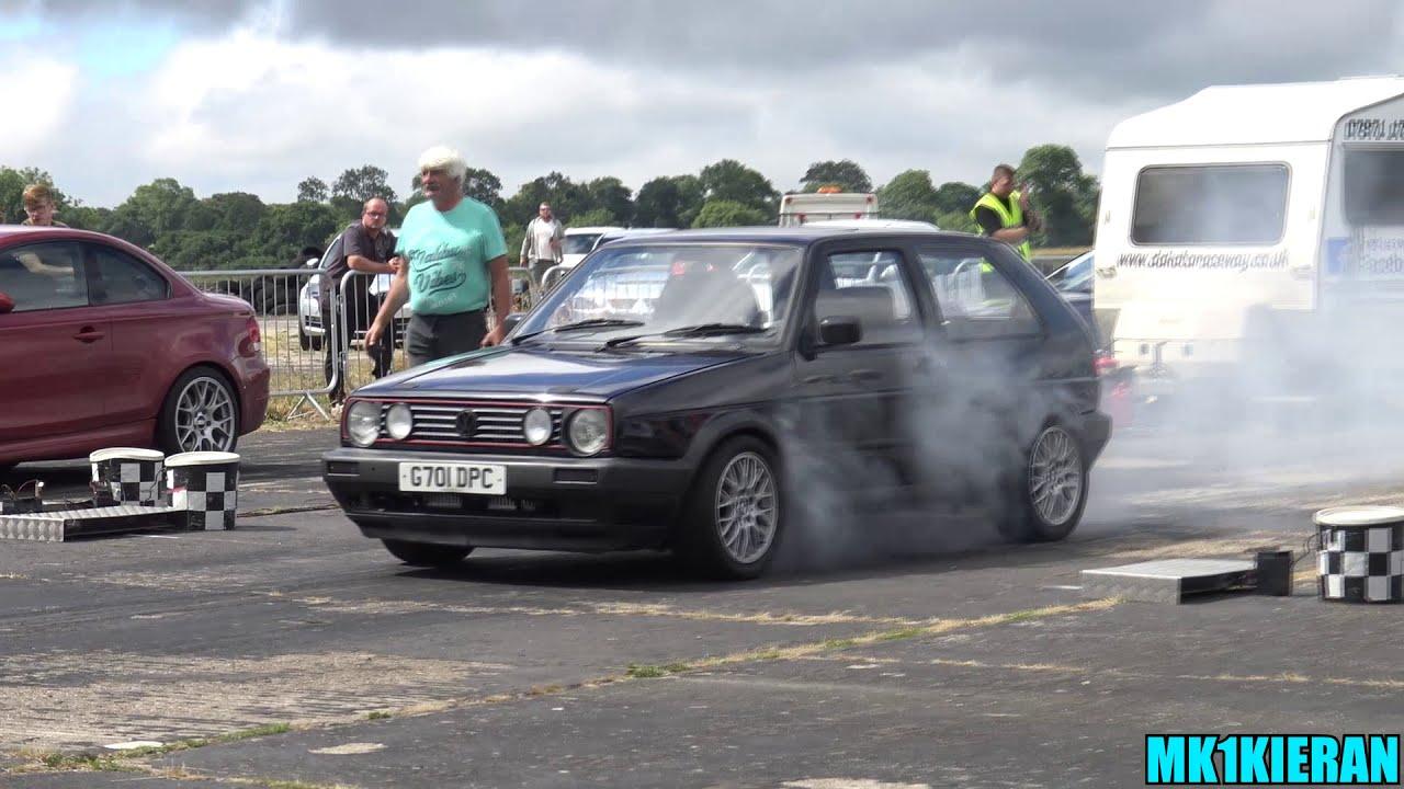 Rwd Vw Golf Mk2 Powered By A Twin Turbo Audi S4 2 7l V6!  Mk1kieran 03:48 HD