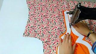 WOW very creative and latest Neck design/यह नेक आपकी ड्रेस को और भी सुंदर बना देगा