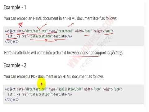 HTML L22 : HTML Embed Multimedia