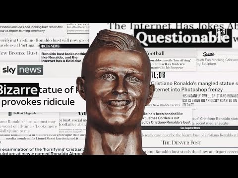 The Ronaldo-Over: Ridiculed Sculptor Emanuel Santos Takes Second Shot at Cristiano Bust