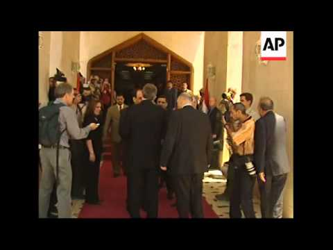 WRAP Update on British prime minister visit, roundtable with Maliki