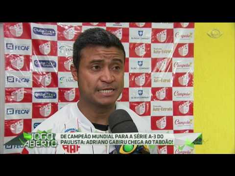 Adriano Gabiru assina com o Taboão da Serra