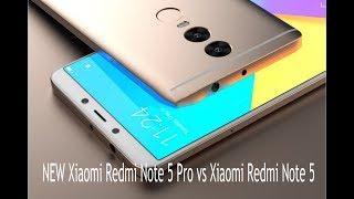 NEW Xiaomi Redmi Note 5 Pro vs Xiaomi Redmi Note 5 first look best smartphones
