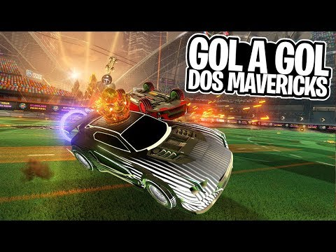MAVERICK 1.0 VS MAVERICK GXT BRANCO! GOL A GOL DAS SAVES! - Rocket League thumbnail