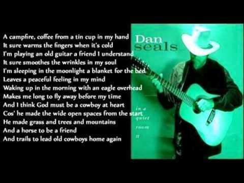 Dan Seals - God Must Be A Cowboy (acoustic)
