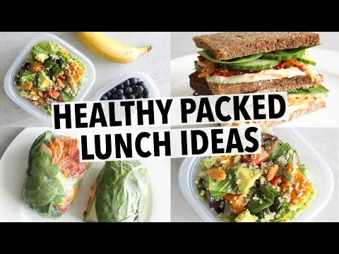 EASY HEALTHY LUNCH IDEAS – FOR SCHOOL OR WORK!